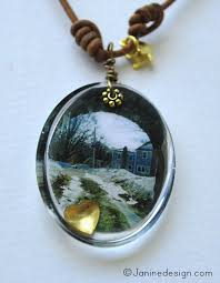 Custom Photo Necklace Custom Photo Resin Necklace Jewelry In Holliston United States