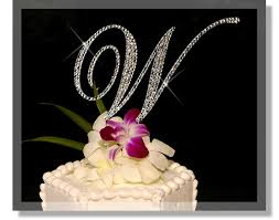 w cake topper timeless toppers swavorski cake toppers and accessories