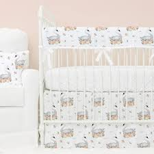 Duvet Baby Floral Crib Bedding Baby Flower Bedding Caden Lane