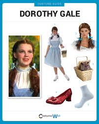 dorothy wizard of oz halloween costumes dress like dorothy gale costume halloween and cosplay guides