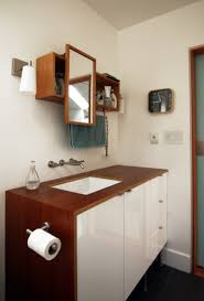 bathroom modish hanging ikea bathroom vanity with mounted toilet