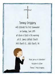 communion invitations boy boy s communion invitations by adele
