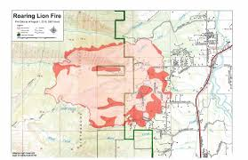 Map Of Missoula Montana by The Spread Of The Roaring Lion Fire Slows U2013 Wildfire Today