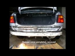 honda accord bumper replacement cost replace rear bumper cover on a 1999 honda civic ex