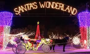 christmas lights in college station texas santa s wonderland and hayride santa s wonderland a texas