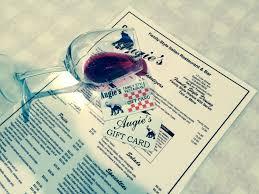 restaurant gift card deals gift card augie s family style italian restaurant