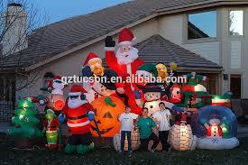 Inflatable Polar Bear Christmas Yard Decorations by Outdoor Inflatables Christmas Yard Decoration Lighted Polar Bear