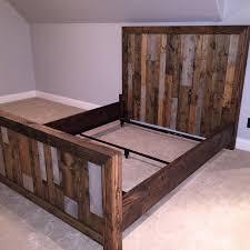 vertical slat bed frame u2014 north meridian furniture