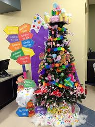 candyland christmas at the new englewood branch christmas tree