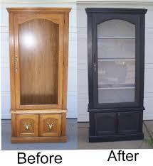 Antique Home Decor Curio Cabinet Antique Oak Curio Cabinet Antiques Vintage Home