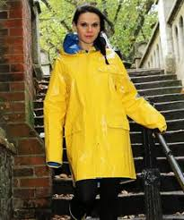 Yellow Raincoat Girl Meme - doesn t ever little girl dream of having a classic yellow raincoat