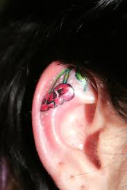 cherry ear skull by 2face on deviantart