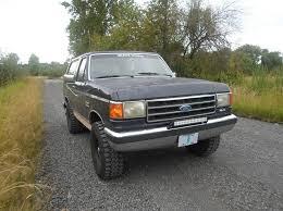 this 1990 bronco has a 2 bds suspension lift procomp wheels