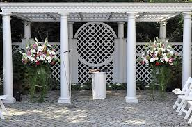 wedding arch nyc superior florist event florals ceremony