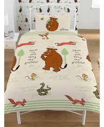 Betty Boop Duvet Set The Gruffalo Woodland Single Duvet Cover Set Bedding Bedroom