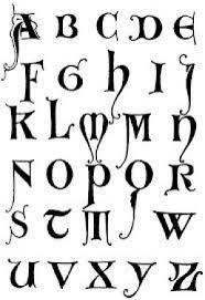 imagenes goticas letras cómo hacer letras góticas dibujos y ejemplos tipos de letras