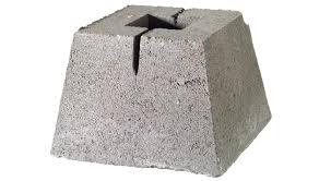 concrete block footings for deck home design ideas