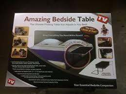 portable sofa table amazing bedside table adjustable portable bed sofa table mate