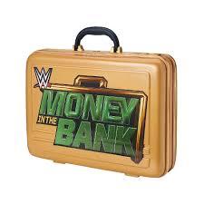 retro tv bank wwe money in the bank commemorative briefcase wwe us