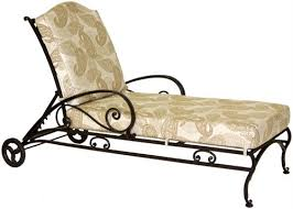 Wrought Iron Patio Chaise Lounge Ashbury Chaise Lounge Ashbury Collection From Ow Lee