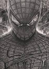 spiderman u0027 graphite drawing tacular artist deviantart