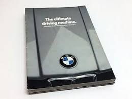 bmw 320i brochure 1981 bmw 733i 633 csi 528i 320i line preview brochure ebay
