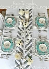 how to make table runner at home how to make a penny table runner table designs