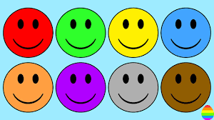 learn colors with smiley face coloring pages for kids u0026 toddlers