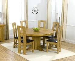 6 seater oak dining table oak dining sets for 6 contemporary chunky natural solid oak dining