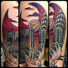 Pennsylvania Travel Tattoo images The most fascinating inspiring and unique travel tattoos their jpg