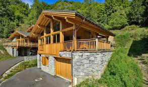 chalet verdet skiing in the french alps