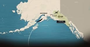 Gulf Of Alaska Map Alaska Ultima Thule Lodge U0026 Flugsafaris Polaradventures