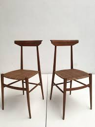 modernist chairs from v negrello 1950s set of 2 for sale at