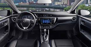 86 Corolla Interior 2017 Toyota Corolla Interior Design Automotrends Pinterest