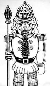 nutcracker coloring sheets colored personal educational