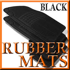 cadillac cts all weather floor mats fits cadillac cts all weather black rubber floor mats ebay