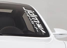jdm subaru emblem buy daily driven 2 strip jdm stance turbo drift car windshield