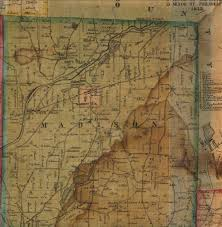 Madison Map 1853 Madison County New York Topographical Map From Surveys By