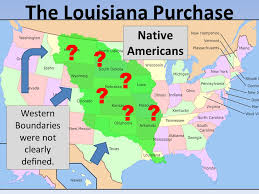 usa map louisiana purchase goals describe how and why the louisiana purchase took place