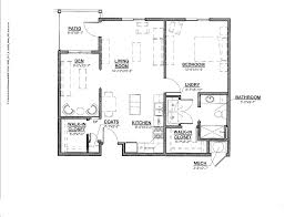 One Level Home Floor Plans One Level House Plans For Seniors Home Design And Style