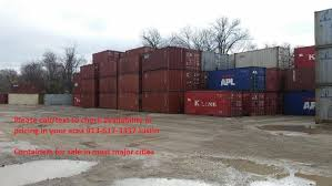 40 u0027 high cube shipping storage container kansas city mo