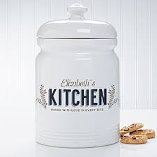 personalized cookie jars personalized cookie jar kitchen
