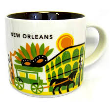 Design Mugs by Amazon Com Starbucks New Orleans Ceramic Coffee Mug You Are Here