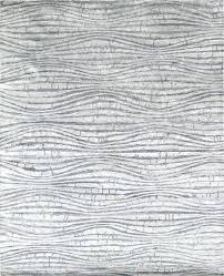 Modern Silk Rugs Bamboo Silk Rug Modern Rayon From Bamboo Silk Knotted Silver