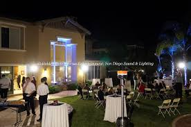 wedding rentals san diego outdoor flood lighting rental for weddings events in san diego