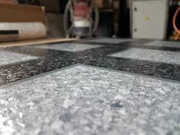 Industrial Concrete Floor Paint Sparta Flake Brindle Polyaspartic Decorative Concrete Floor Coating