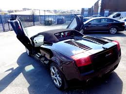 convertible lambo second hand lamborghini gallardo spyder e gear with extras rare