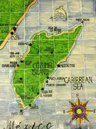 Cozumel Map Things To Do In Cozumel Travel2next