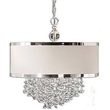 Uttermost Chandeliers Clearance Uttermost 21908 Fascination 3 Light Hanging Shade Ceiling