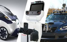 toyota line of cars toyota announces major push into ai and robotics wants cars that